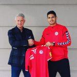 Eric Ramírez jugará en Eslovaquia