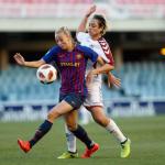 """La """"gallardía"""" criolla se muestra en el fútbol femenino español"""