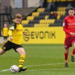 Enrique Peña Zauner destila buen fútbol en Alemania