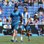 Rosales se lesiona y peligra su continuidad en el Espanyol