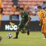 Renzo Zambrano vio sus primeros minutos en MLS