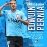 Edwuin Pernía no sigue en Deportes Iquique