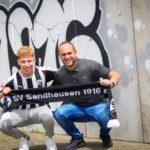 Enrique Peña Zauner firmó con un nuevo club en Alemania