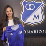 María Peraza fue anunciada por el Millonarios de Colombia