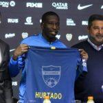 (+FOTOS) Jan Hurtado fue presentado como nuevo jugador Boca Juniors
