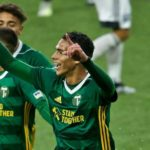 Brayan Hurtado y su idilio goleador con el Timbers