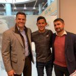 """Juvenil """"Nando"""" Gutiérrez jugará con el Atlético Madrid"""