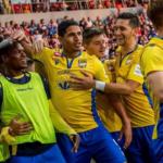 Eric Ramírez sigue dulce con el gol en DAC de Eslovaquia