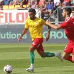 Ronald Vargas volvió en empate de KV Oostende