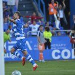 Christian Santos volvió a marcar por la Liga SmartBank