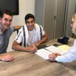 Abel Caputo firma con equipo de la segunda división belga