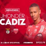 Jhonder Cádiz aterriza en el fútbol francés