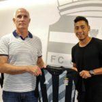 Leomar Pinto es el nuevo fichaje del FC Cartagena B