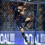Andrés Túñez marcó en goleada del Buriram United