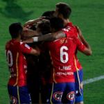 Rafael Arace anota su primer gol con Unión Española
