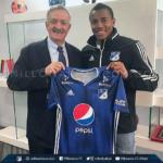 Wuilker Fariñez renovó contrato con Millonarios FC
