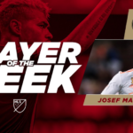 Josef Martínez es el mejor jugador de la semana en la MLS