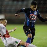 Brayan Palmezano marcó su primer tanto en Chile