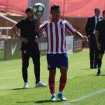 """""""Nando"""" Gutiérrez debutó en UEFA Youth League"""
