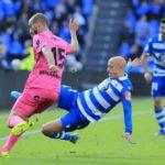 Mikel Villanueva anotó en victoria del Málaga