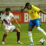 La Sub 23 reprobó en su primer ensayo contra Brasil