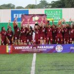 La Vinotinto Femenina Sub-20 volvió a quedar campeona