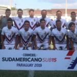 Vinotinto Sub-15 debutó con empate en el Sudamericano