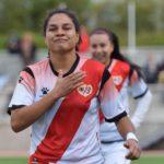 Oriana Altuve agitó las redes en victoria del Rayo Vallecano