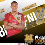 Oscar Hernández da el salto al fútbol colombiano