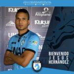 Jesús Hernández cambia de club de en Chile