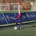 Alessandro Impera se forma en el FC Barcelona