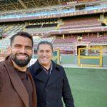 Rincón y Peseiro se reunieron en Italia