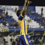 Yeiber Murillo agita las redes por primera vez en Paraguay