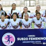 """Las """"chamas"""" rescataron tres puntos """"de oro"""" en el Sudamericano Sub20"""