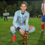 """Samuel Rodríguez: un """"obelisco"""" criollo en las inferiores del Atlético Madrid"""