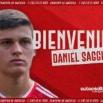 Daniel Saggiomo fue anunciado por Argentinos Juniors