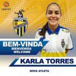 Karla Torres asume un nuevo reto en Portugal
