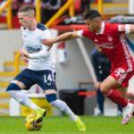 Ronald Hernández suma minutos en Escocia