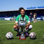Oriana Altuve ganó su primer título con el Betis