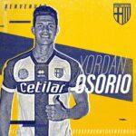 Yordan Osorio fue oficializado por el Parma