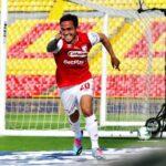 Luis Manuel Seijas volvió al gol en Colombia