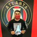 Josef Martínez obtuvo reconocimiento en Atlanta
