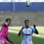 Josua Mejías debutó con el Málaga CF