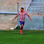 Fernando Gutiérrez sacudió las redes con el Atlético Madrid