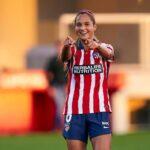 Deyna Castellanos aportó en goleada de su Atlético Madrid