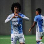 Eduard Bello cerró la temporada con gol en Chile