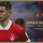 (+TUIT) Ronald Hernández fue anunciado por el Atlanta United