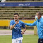 Edder Farías ya marca goles en Ecuador