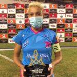 Emperatriz García, la luz que brilló en la Copa Libertadores Femenina
