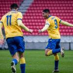 Eric Ramírez se enamora del gol en tierras eslovacas